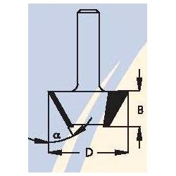"""45"""" D-35,0 mm B-10,0 mm d-6 mm SZ34503"""