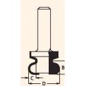Figūrinė 8.0x31.8x12 mm freza