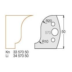 Peiliukas Nr 570 ( 2 peiliukai+2 priešpeiliai)