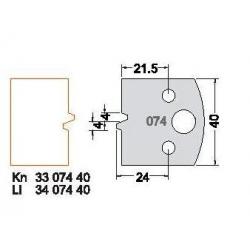 Peiliukas Nr 74 ( 2 peiliukai+2 priešpeiliai)