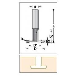D-28,8 mm D1-11,1 mm B1 20,7mm B2-4,0 mm d-12 mm D1460109