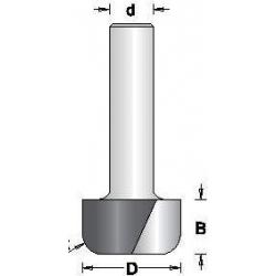 D-12.7 mm R-3.0 mm B-12.7 mm d-6