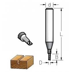 D-1,0 mm B-3 mm L-43 mm d-6 mm