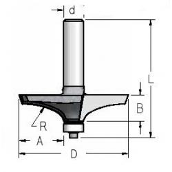 Filinginė freza RK43