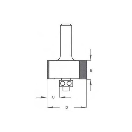 Kampo 5,0 mm išėmimo HE22035