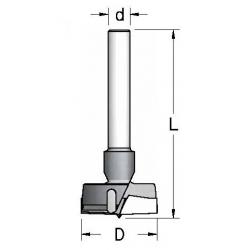 D-35 L-60 d-8 mm
