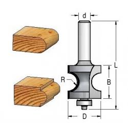 R-9,5 mm D-35,0 mm B-34.0 mm d-12
