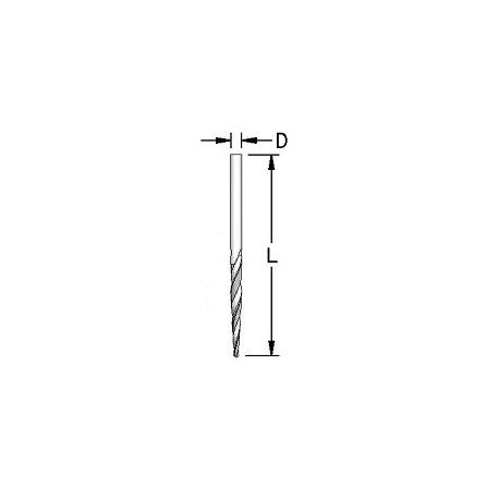 Konusinis grąžtas 2,0 mm DRT0200
