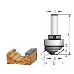 Profiliniam grioveliui su guoliu DL42542