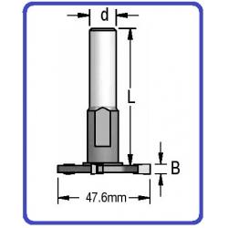 Kotelis su 6 mm diskeliu