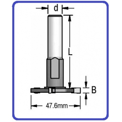 Kotelis su 3 mm diskeliu