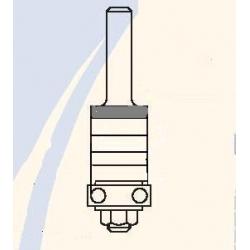 Kotelis diskinei frezai su 22 mm guoliu N000805