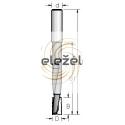 Grąžtas/freza 12.7x25x72-151 mm
