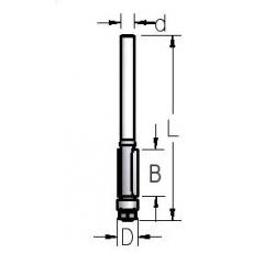 D-8,0 mm B-13 mm d-6 mm