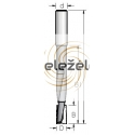 Grąžtas/freza 14x25x110-160 mm