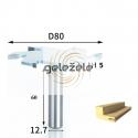 6 dantukų diskinė freza D-80 mm B-5.0 mm d-12 .7 mm