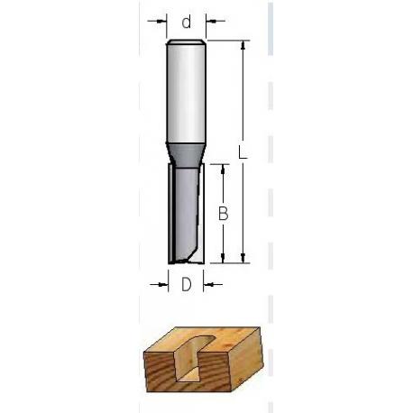 D-12,0 mm B-25 mm L-56 mm d-8 mmFreza 20 mm grioveliui HP23205