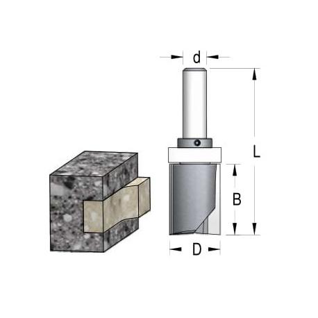 D-25.4 mm B-45 mm L 96 mm