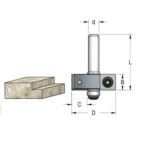 D-35 mm B-12 mm L 54 mm