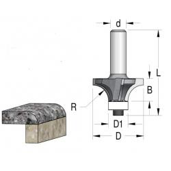 R-12.7 D-41.3/15.9 mm B-18 mm z-4 L 69 mm