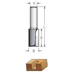 D-40,0 mm B-25 mm L-66 mm d-12 mmFreza 20 mm grioveliui HP23205