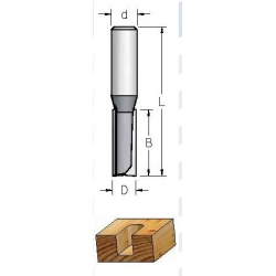 D-10,0 mm B-32 mm L-76 mm d-12 mm