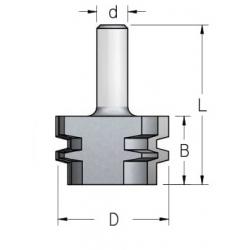 D-47 mm B-28 mm d-8 mm