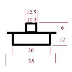 Kopijavimo žiedas 35x30x12,2x10,3x6
