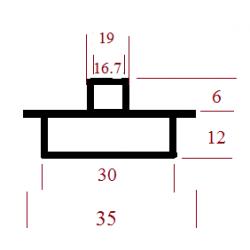 Kopijavimo žiedas 35x30x19x16,5x6