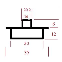 Kopijavimo žiedas 35x30x20,2x16x6