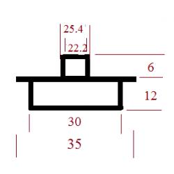 Kopijavimo žiedas 35x30x25,4x22,2x6