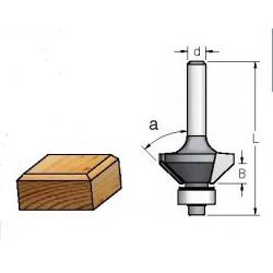 """45"""" B-11,0 mm d-8 mm"""