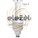 Reguliuojamo pjovimo diskelių pločio freza D 50 mm B-3,0-5,5 mm d-8 mm