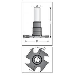 4,0 mm D-50 mm z-4 d-12 mm
