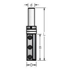 D-19,0 mm B-50,0 mm d-12 mm