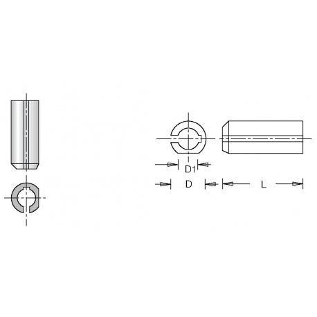 Adapteris 3-10 mm grąžtams