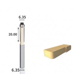 Sulyginimo 6,35 mm D-6.35 mm