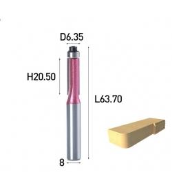 D-6.35 B-20.5 L-63.7 d-8