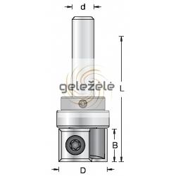 D-19.0 mm B-12 mm d-8 mm
